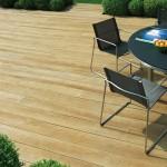 Golden Oak Deck