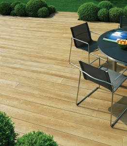 Golden Oak Deck