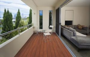 Jarrah Apartment Deck