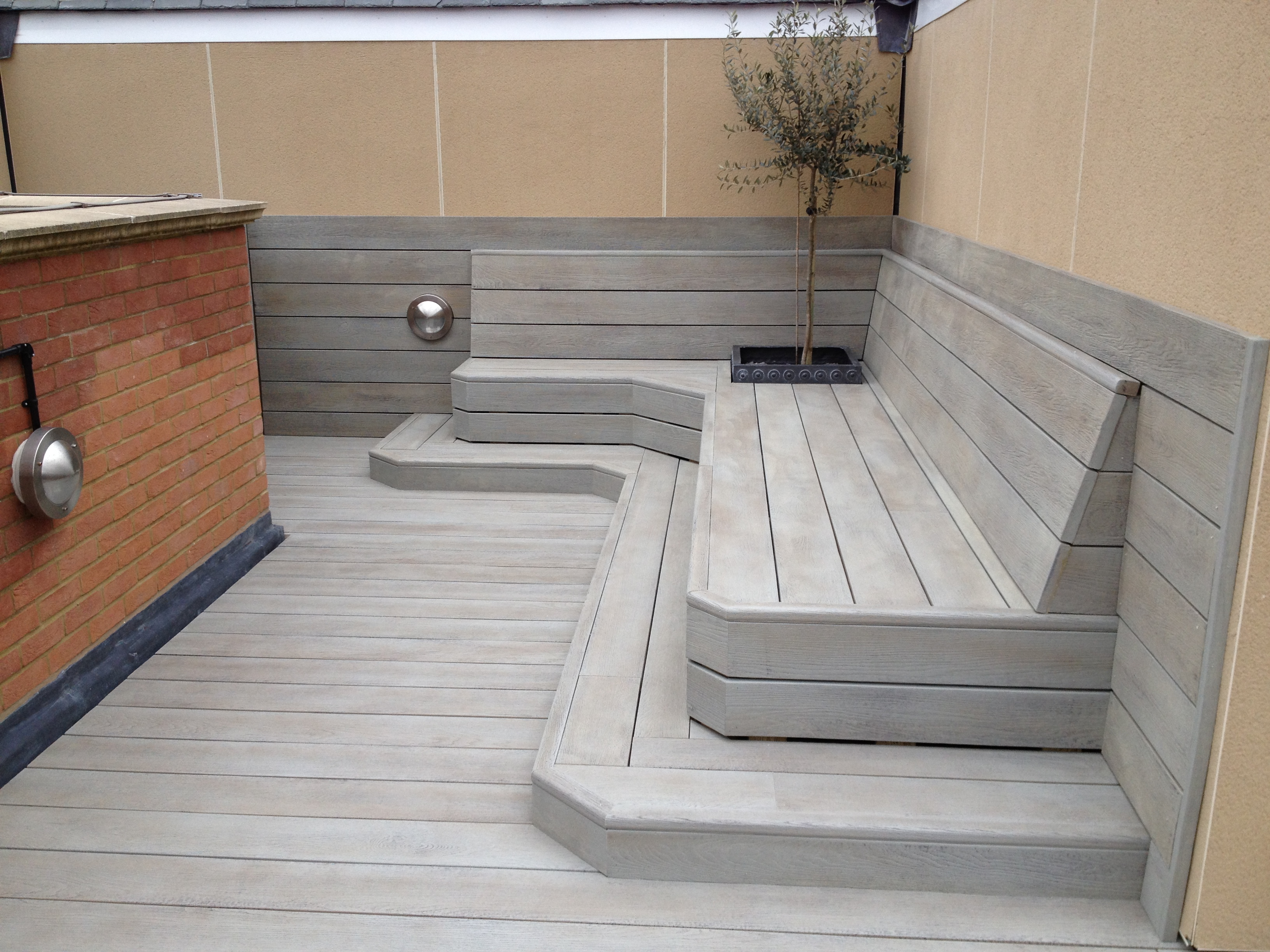 Millboard composite decking carbonised charred deck for Cheap decking boards uk