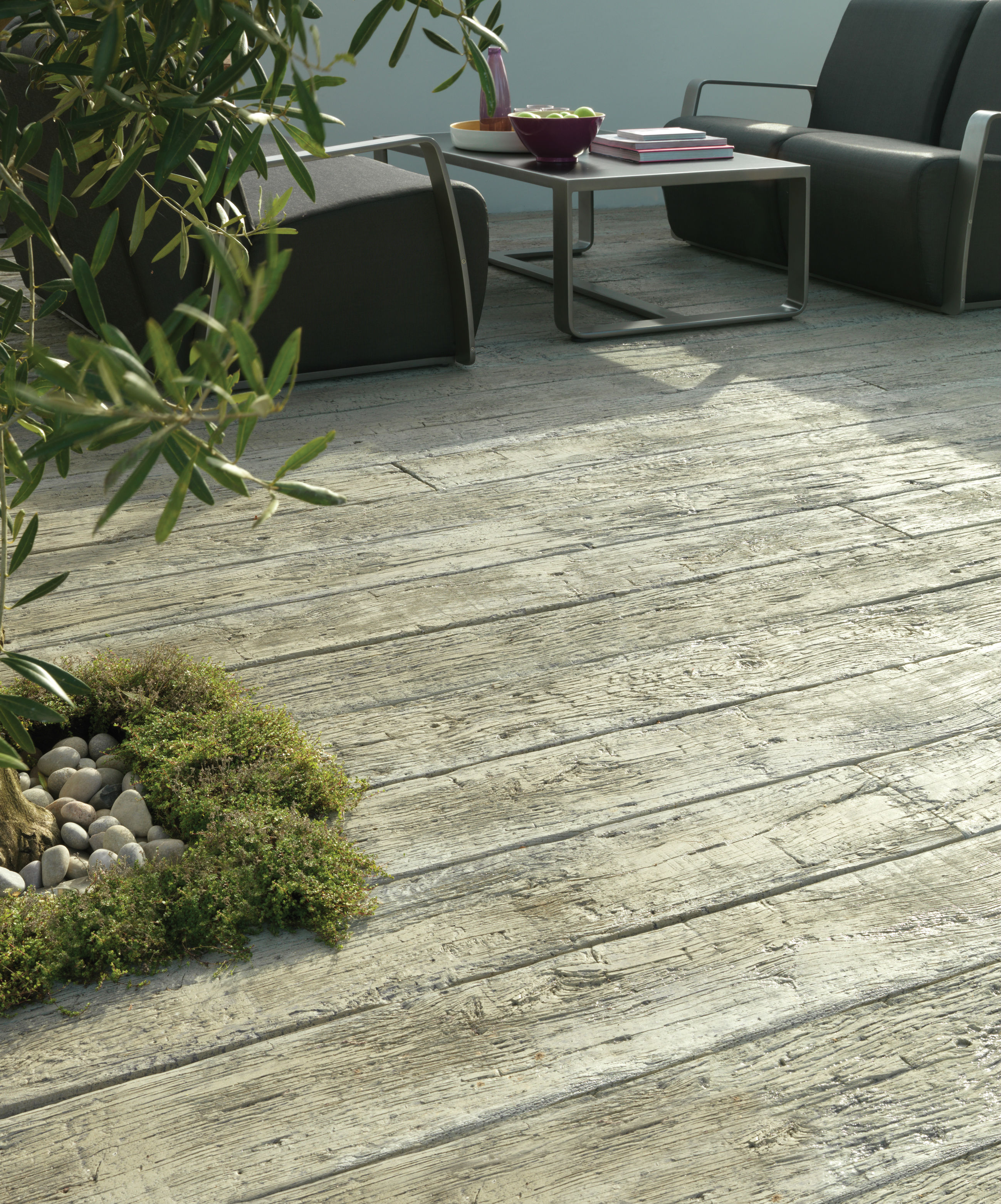 Millboard Composite Decking Carbonised Charred Deck