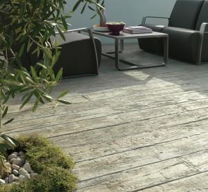 Driftwood Mediterranean Style Deck