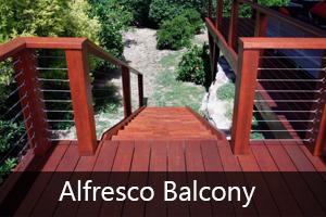 Alfresco Balcony