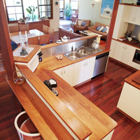 Blackbutt Benchtops