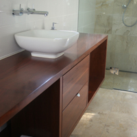 Jarrah Benchtop and drawer