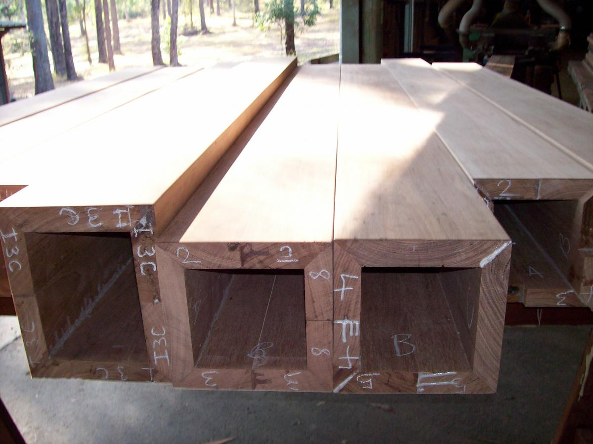 Column beam boxes carrolls wholesale timber