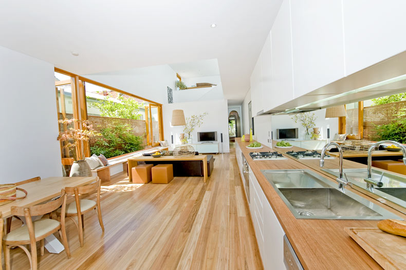 Timber Benchtops & Tables - Wide Board